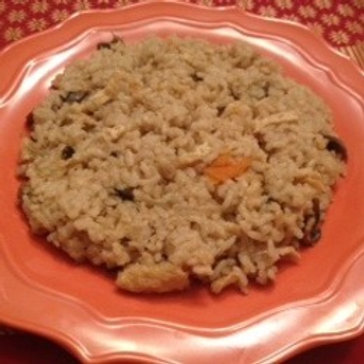 Mixed vegetable brown rice ( 1 lb )