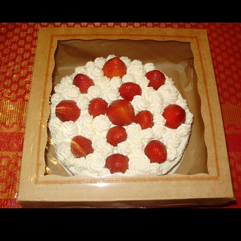 Strawberry short cake 9 inch