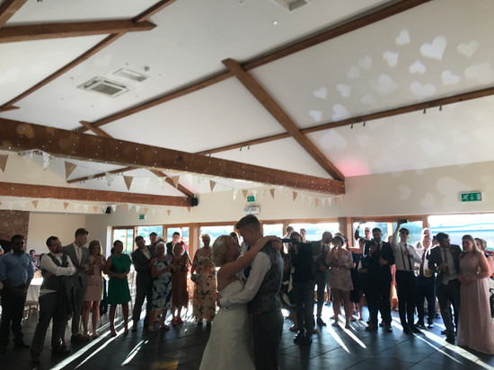 First dance @ quantock lakes