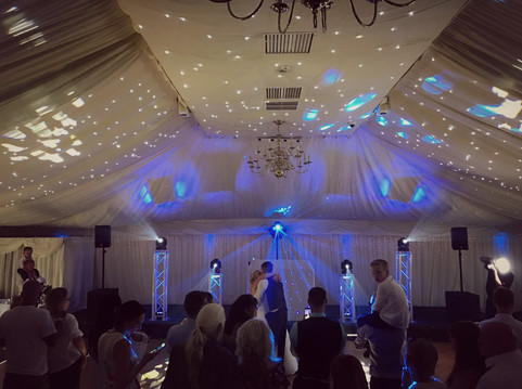 Magical first dance @ batch country house