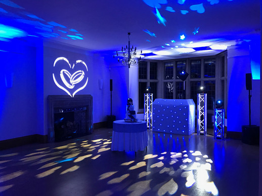 Platinum dj show with love projection @ coombe lodge
