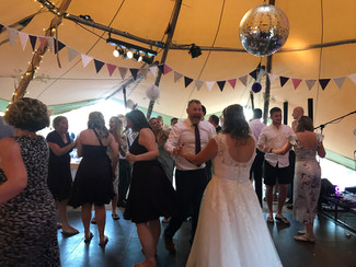 The groom is happy at chew valley lakes