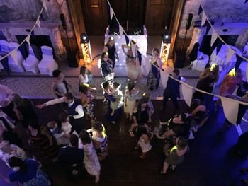 Awesome dancefloor action picture at clevedon hall