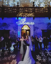Magical first dance photo at clevedon hall