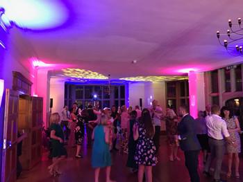 Dancefloor action at coombe lodge