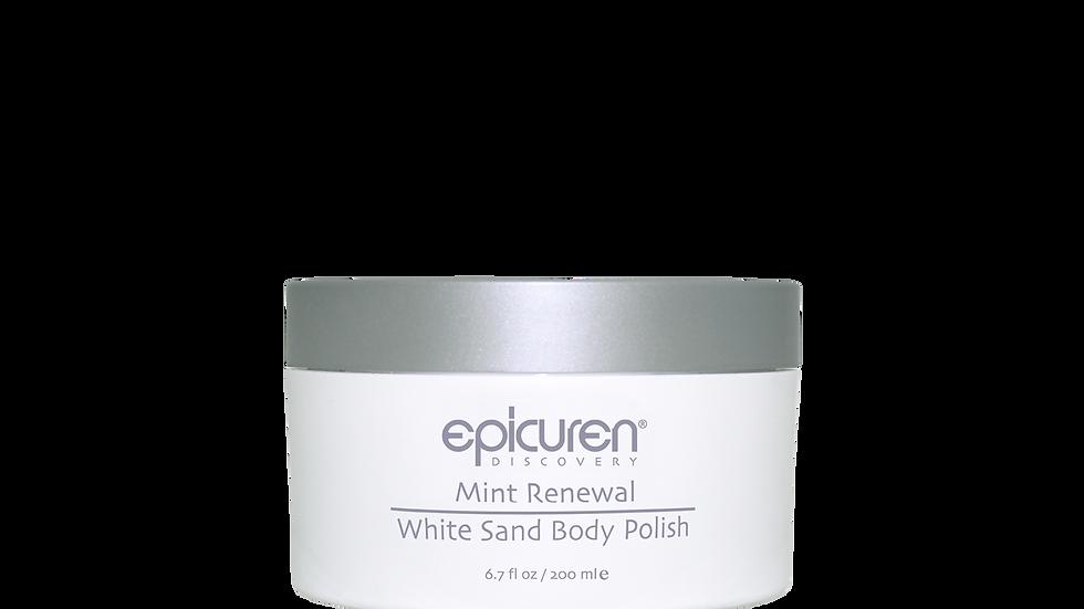MINT RENEWAL WHITE SAND BODY POLISH