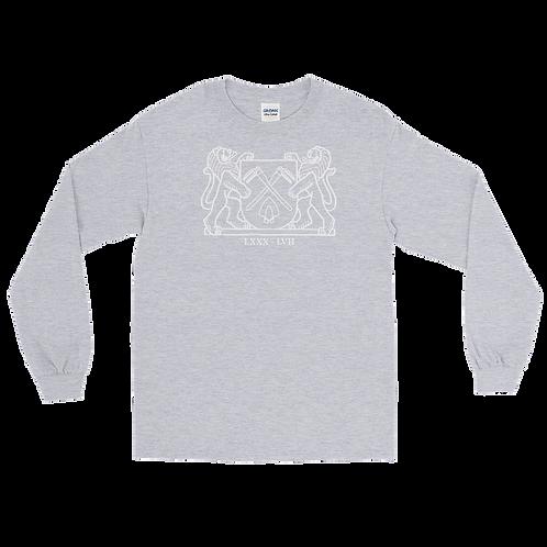 8057 Wappen Long Sleeve Shirt Weiss