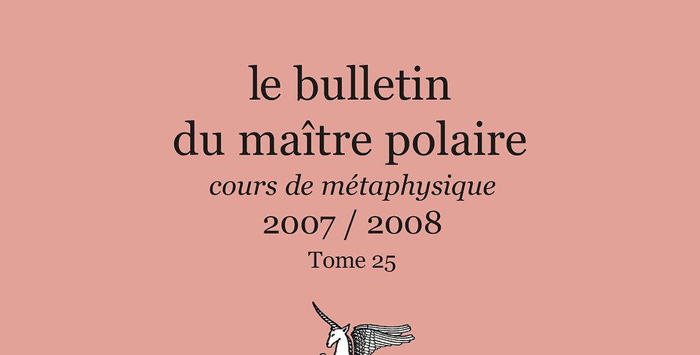 Revue BMP n°25 - 2007/2008