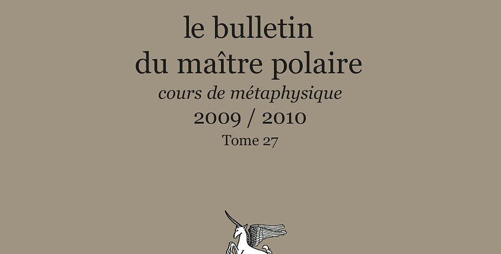 Revue BMP n°27 - 2009/2010