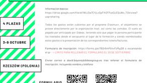 Próxima movilidad Proyecto OPEN CAFE-BORDERLESS DIALOGUE. Consulta info.