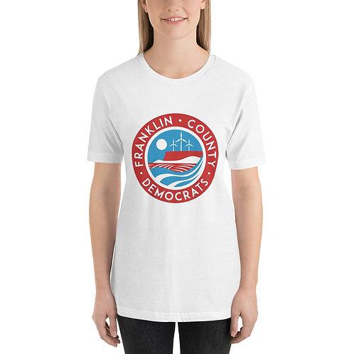 FranCo Round Logo Short-Sleeve Unisex T-Shirt