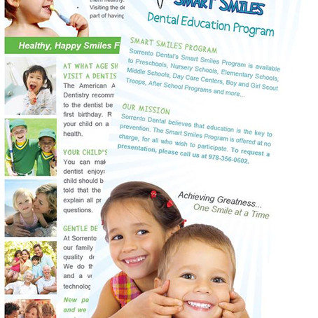Dental Education Program Rack Card
