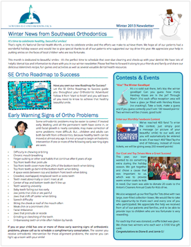 Patient Newsletter