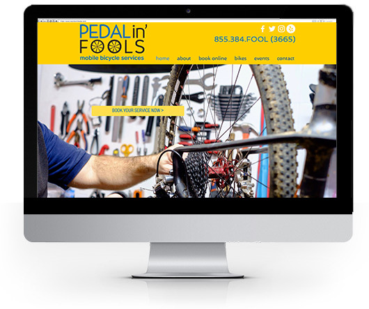 Pedalin' Fools Mobile Bike Service