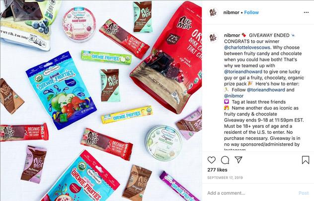 Instagram Giveaway Post