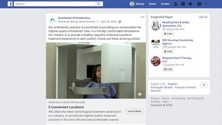 Facebook Digital Video Campaign