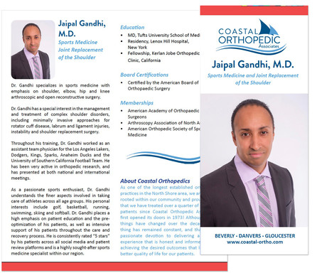 Physician Introduction Brochure