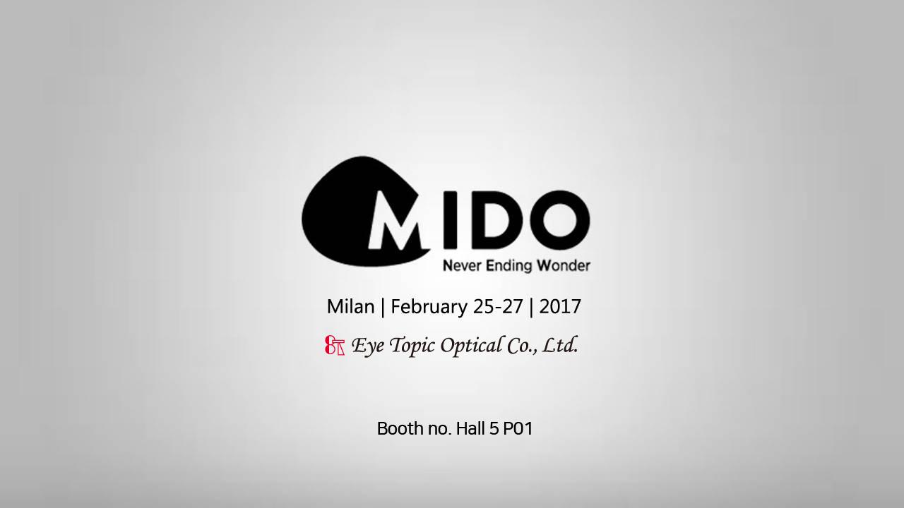 2017 MIDO in Milano