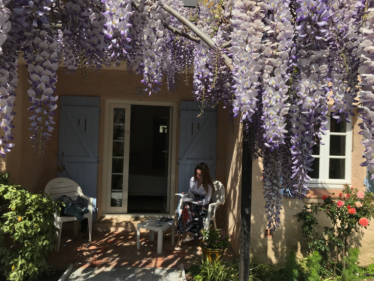 chambre jardin avec térrasse