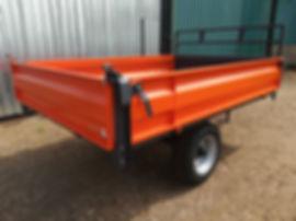 5 Ton Tipper Trailer orange 1.jpg