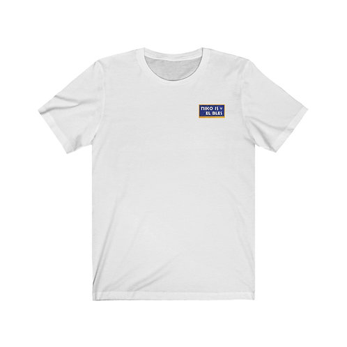 SOFRITO 2020 Nutrition Facts Track List Short Sleeve Shirt (WHITE)