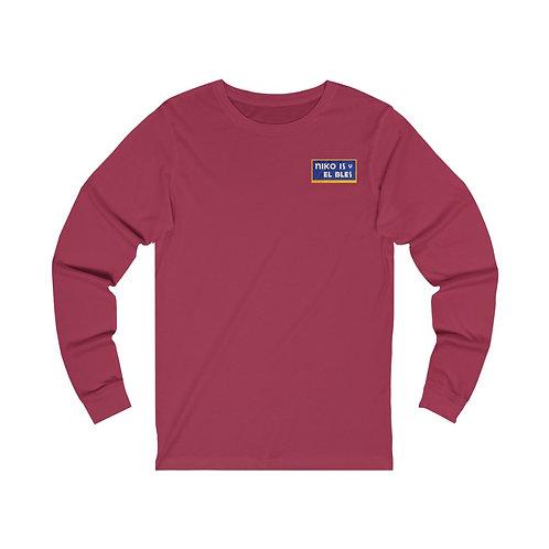 SOFRITO 2020 Rooster Long Sleeve Shirt (CARDINAL)