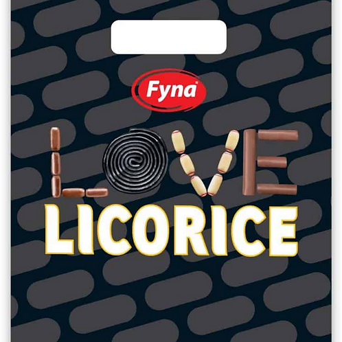 Fyna Love Licorice Showbag