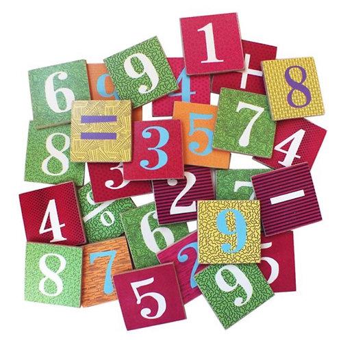 Números y Letras con imán