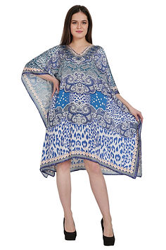 Advance Apparels Digital Print Beach Cover-Up