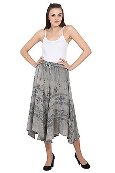 Advance Apparels Acid Wash Skirt