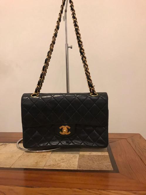 ca10c583b Bolsa Chanel Double Flap Preta
