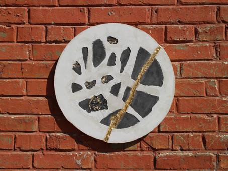 Панно - картина из бетона