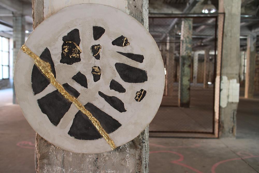 картина из бетона, Tverdo бетонная мастерская