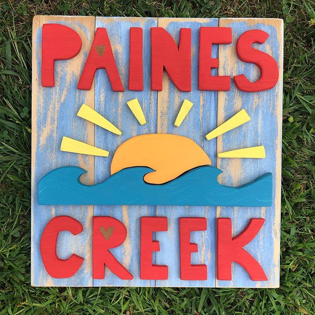Paines Creek process....
