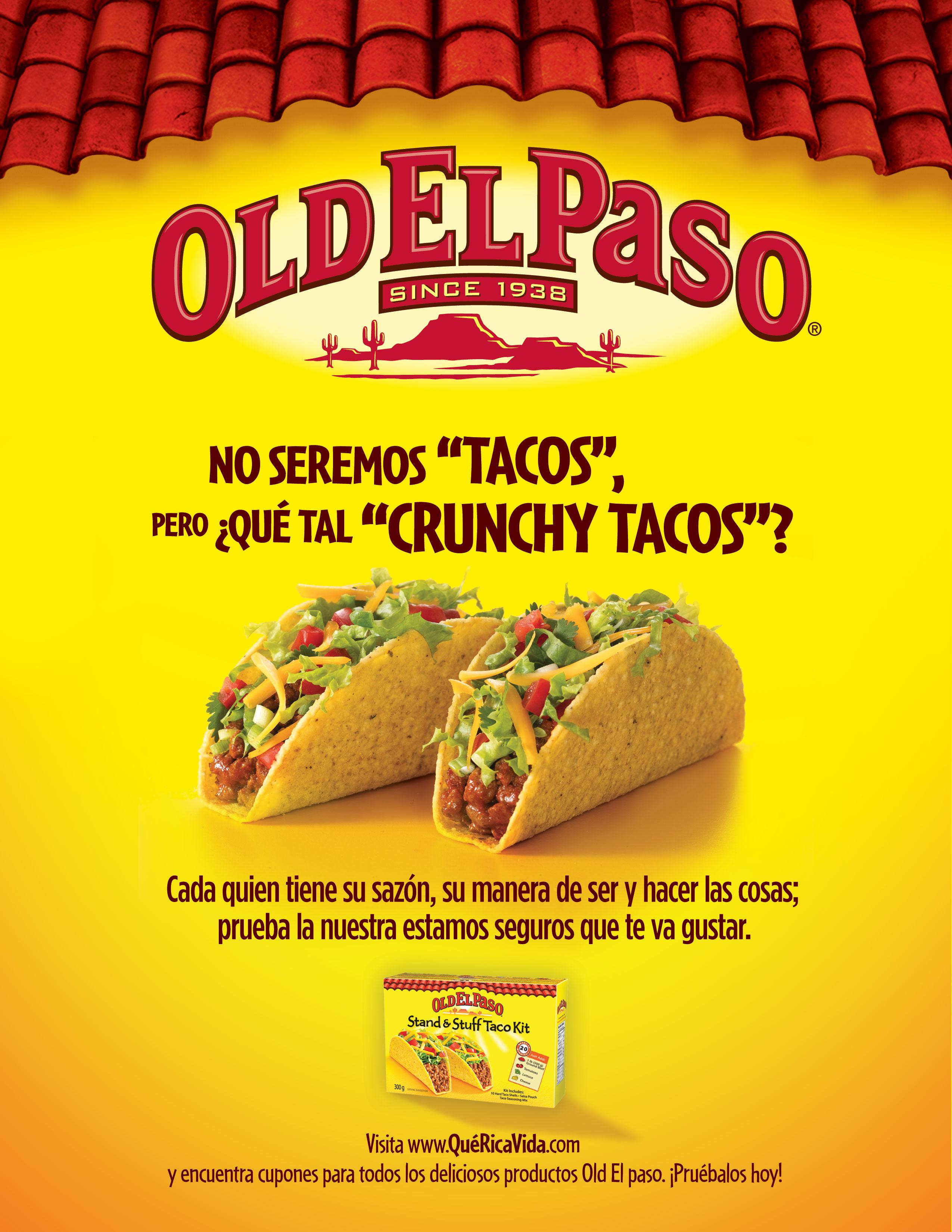 Old El Paso Crunchy Tacos