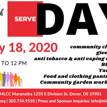 July 18, 2020 - Serve Day w/ MLCC Outreach Team