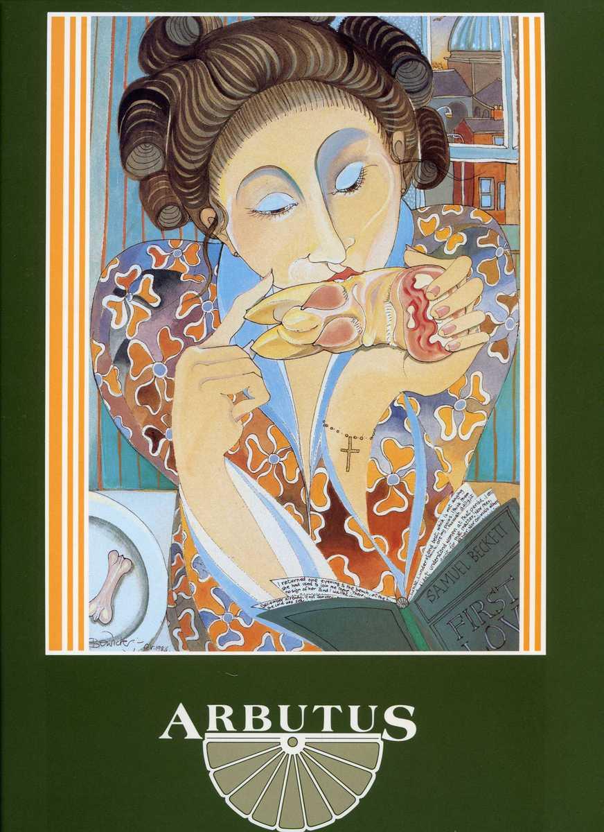 Cover of the Arbutus Lodge Menu