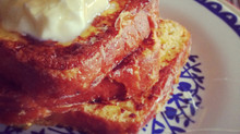 French Toast with Greek Yoghurt & Honey