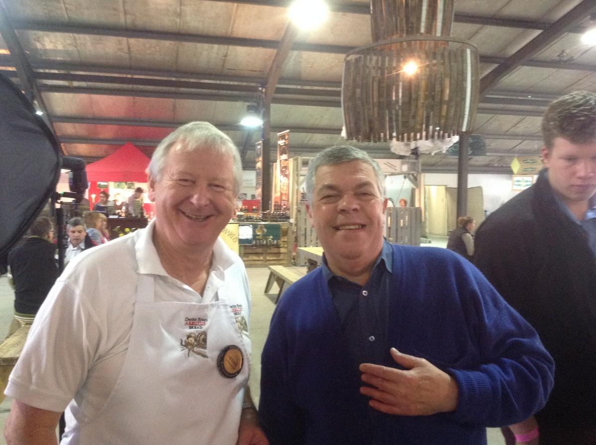 Declan Ryan and Simon Hopkinson