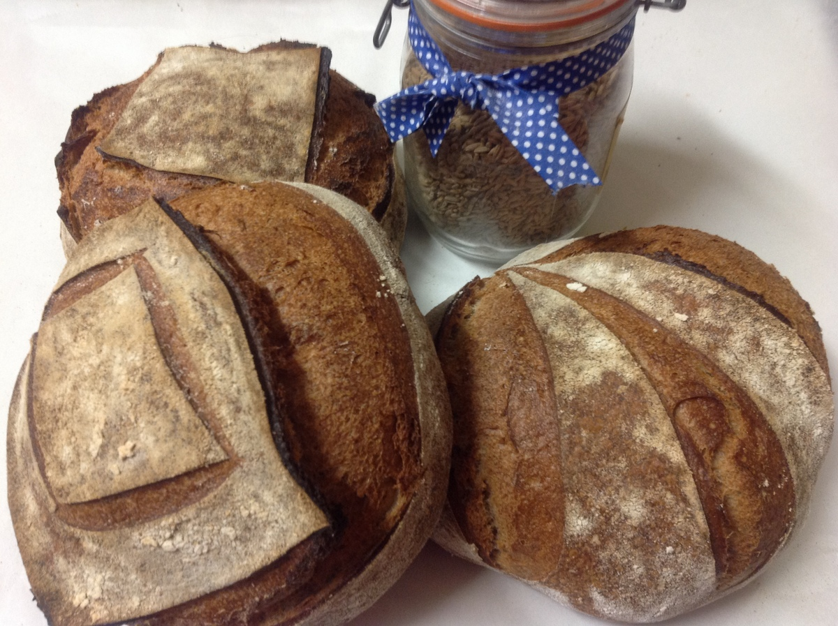 New Wholemeal Sourdough