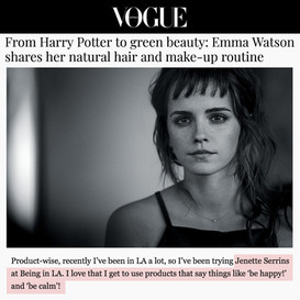 Special thanks to Emma Watson for her support!