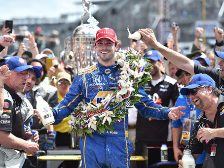 Universal Multisport Signs on to Represent Indy 500 Champion Alexander Rossi