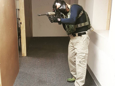 Why Does a Marketing Guy Need to Know How to Clear a Room With a Rifle?