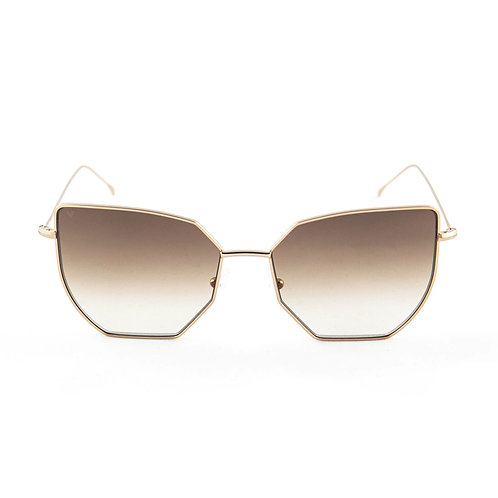 Taylor C05 Shiny red gold - Brown degrade zero lens
