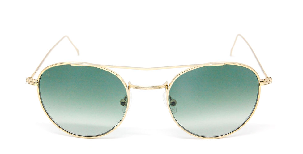 Gabi Evo C04 Shiny yellow gold - Green degrade zero lens