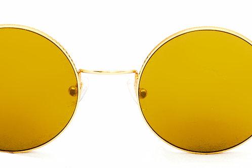Brad C04 Shiny gold - Gold zero lens