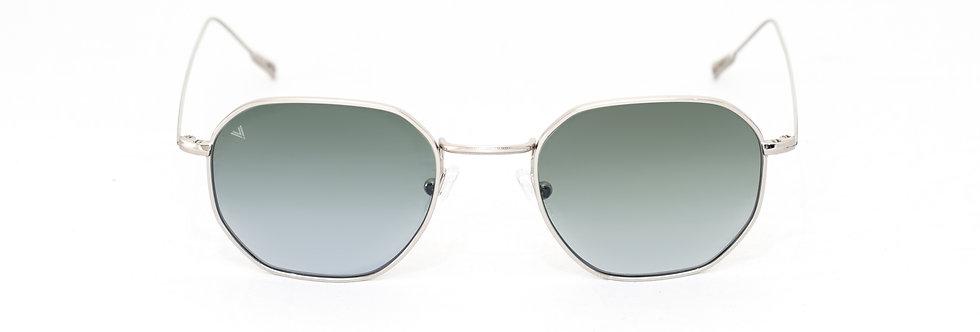 Karl C02 Shiny silver - Green zero lens
