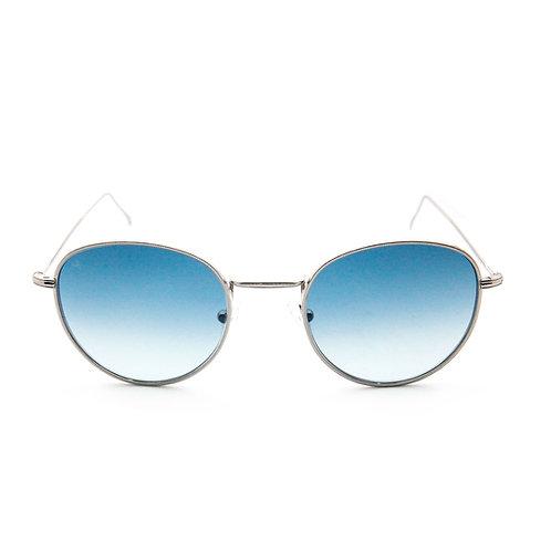 Gary C02 Shiny silver - Blue degrade zero lens