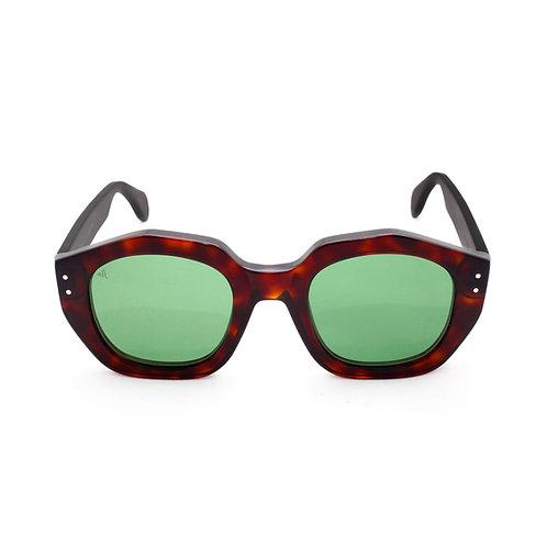 Montecarlo C02 Dark Avana - Green lenses