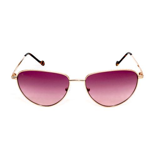 Jorie C05 Shiny Rose Gold and Old Avana - Purple Degrade Lens